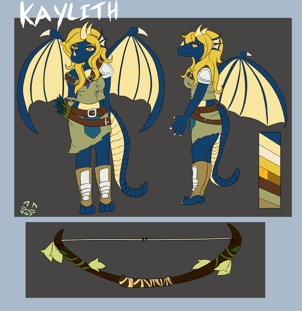 Kaylith - Ref Sheet