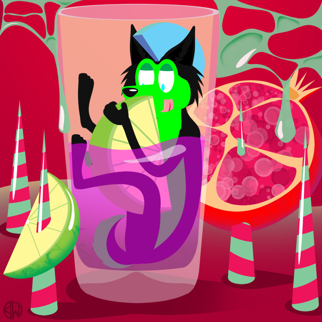 Pomegranite Limeade