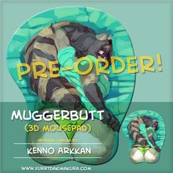 Muggerbutt 3D Mousepad