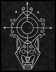 Veve of the Rougarou (Cajun Werewolf)