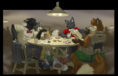 Heist takes poker