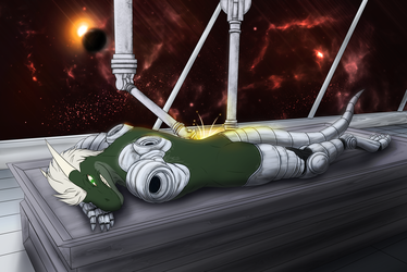 Iron Artist: Day 80 - Nightdragon0 Robotic