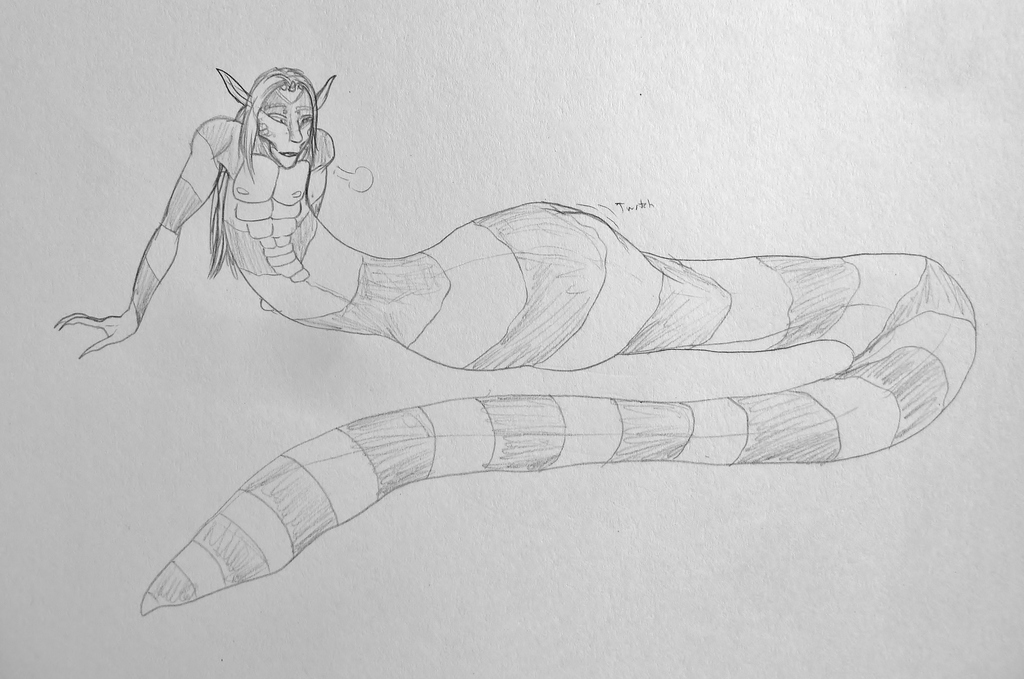 Successful Sea Snake