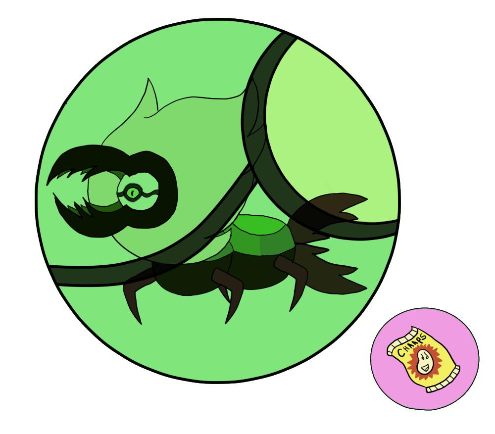 Centipeetle gem