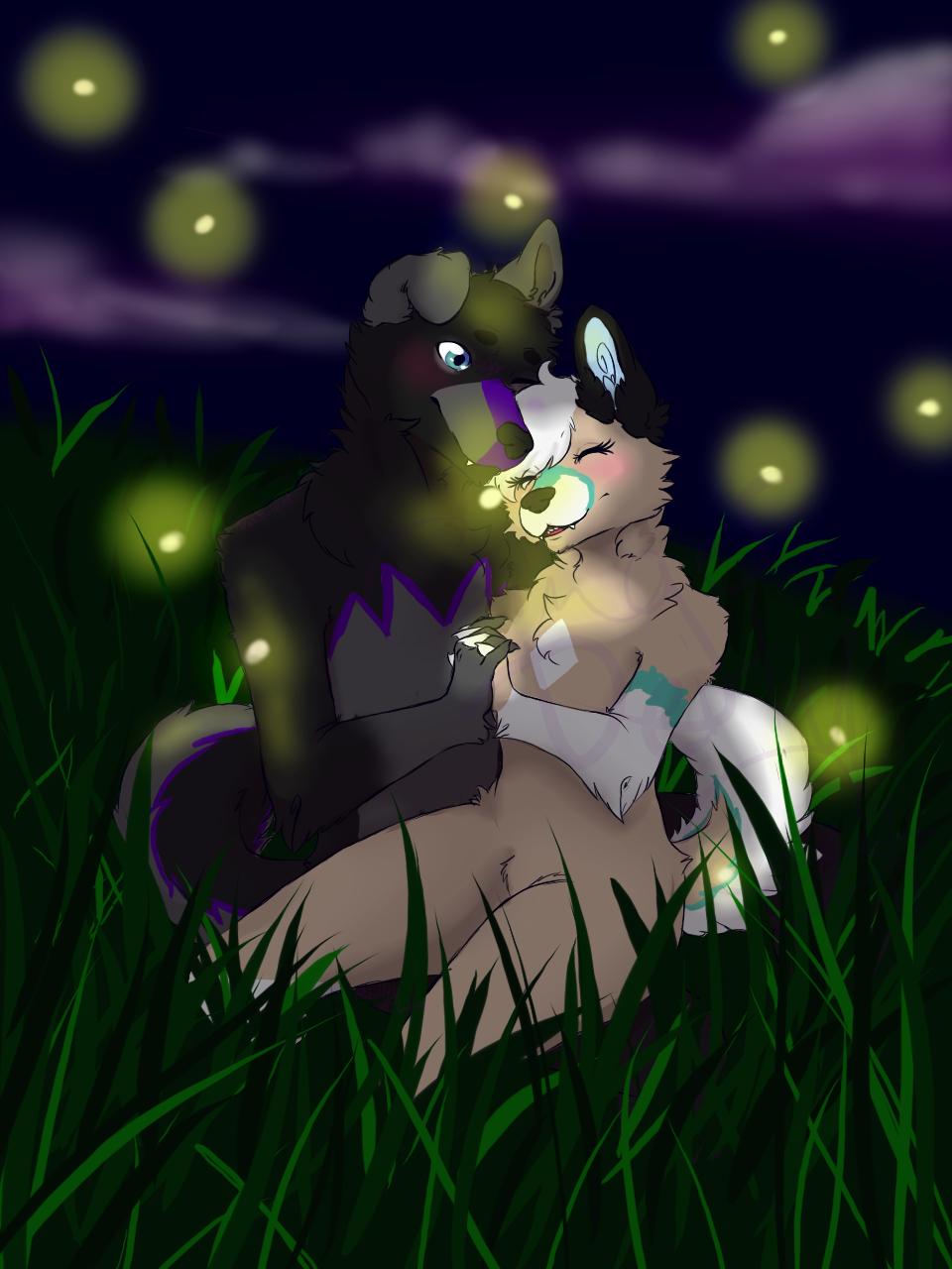 Teagan x Jinxie: Firefly YCH