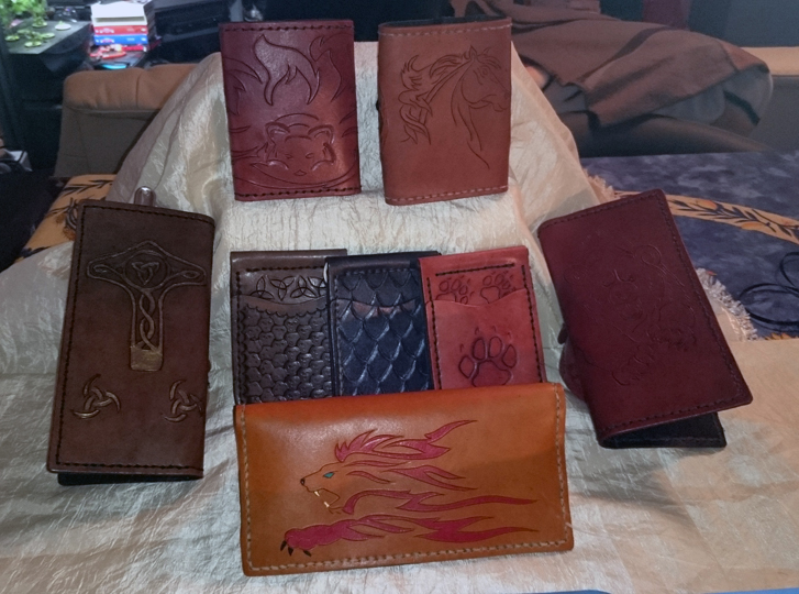 Leather Stock - Wallets