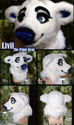 Livii the Polar Bear [Fursuit]