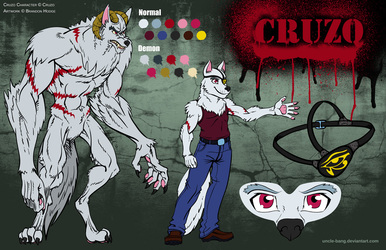 Character Sheet: Cruzo Demon Husky