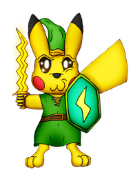 Pika-Link (Commission)
