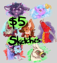$5 Sketch Commissions