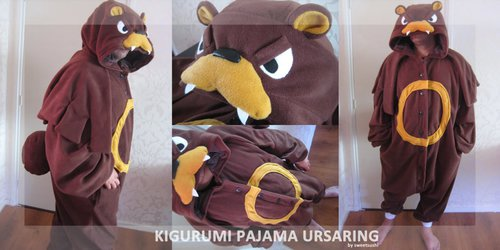 Kigurumi Pajama Ursaring