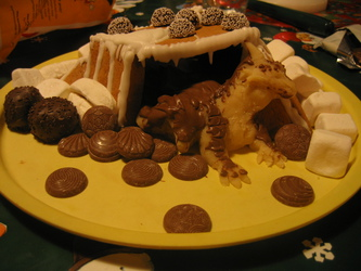 gingerbread house? nah ^w^