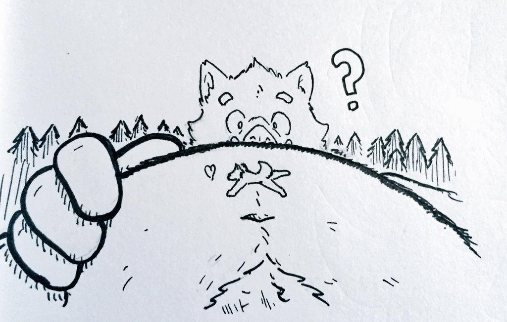 boar gut