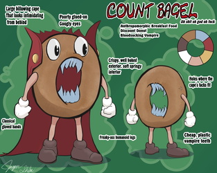 Count Bagel Model Sheet (Comm)