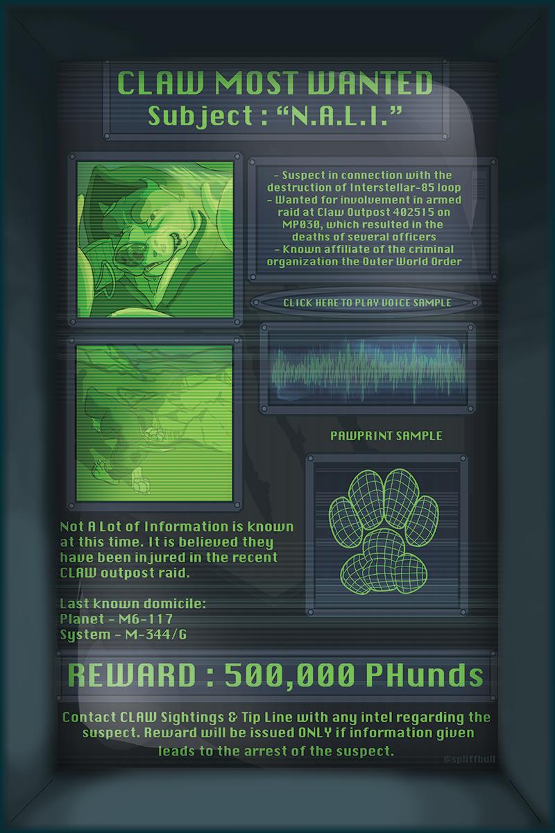 FWA '18 - Galactic Gunslingers Wanted Poster