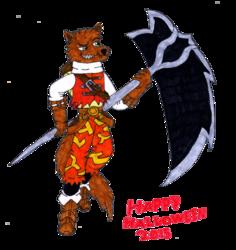 Halloween cosplay: Bastion as Kite