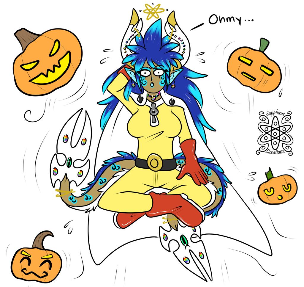 One Punch Sapphirus +Halloween+