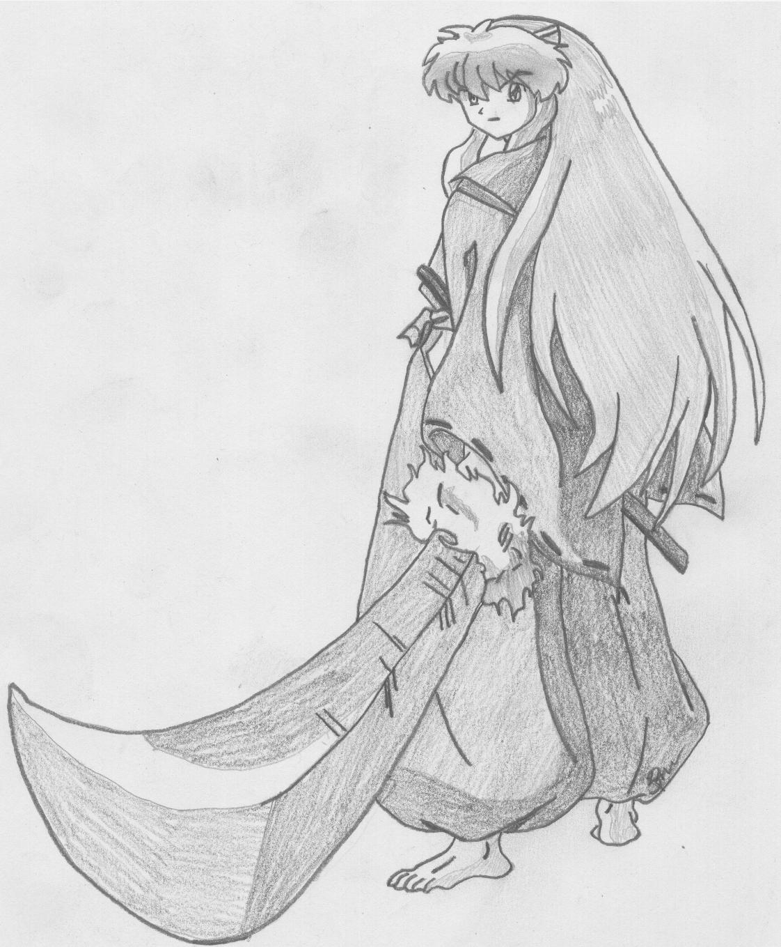 Inuyasha With Tessaiga Weasyl