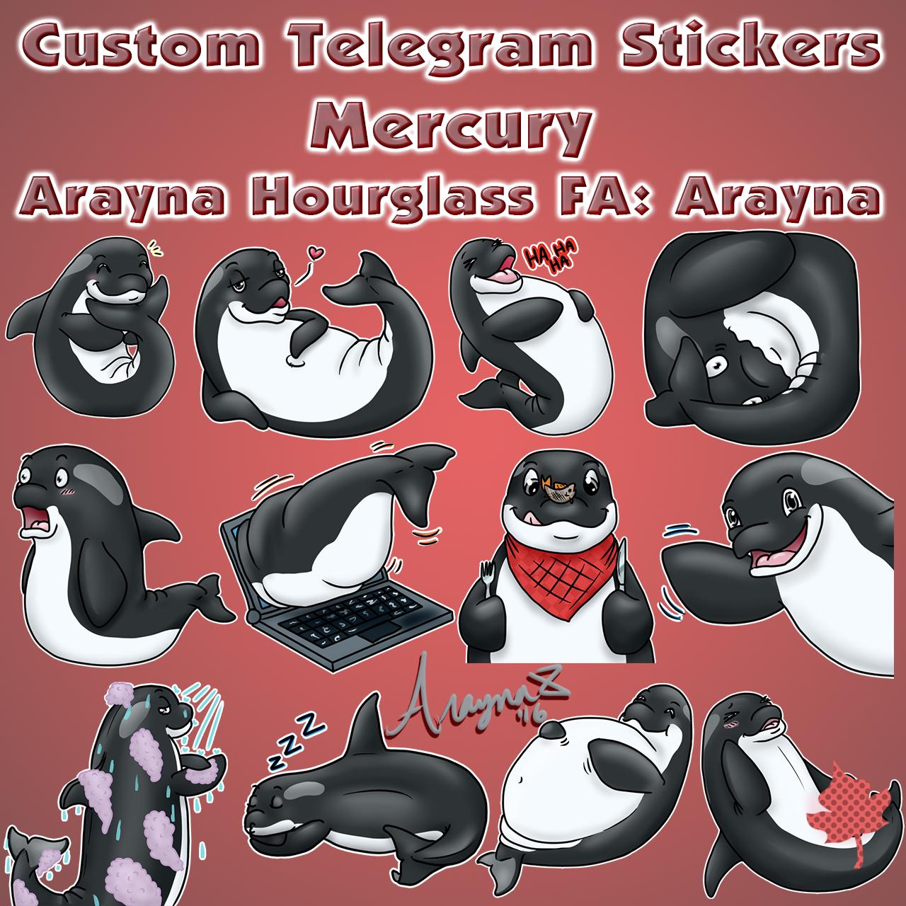 Vicky Stickers Set | Telegram Stickers