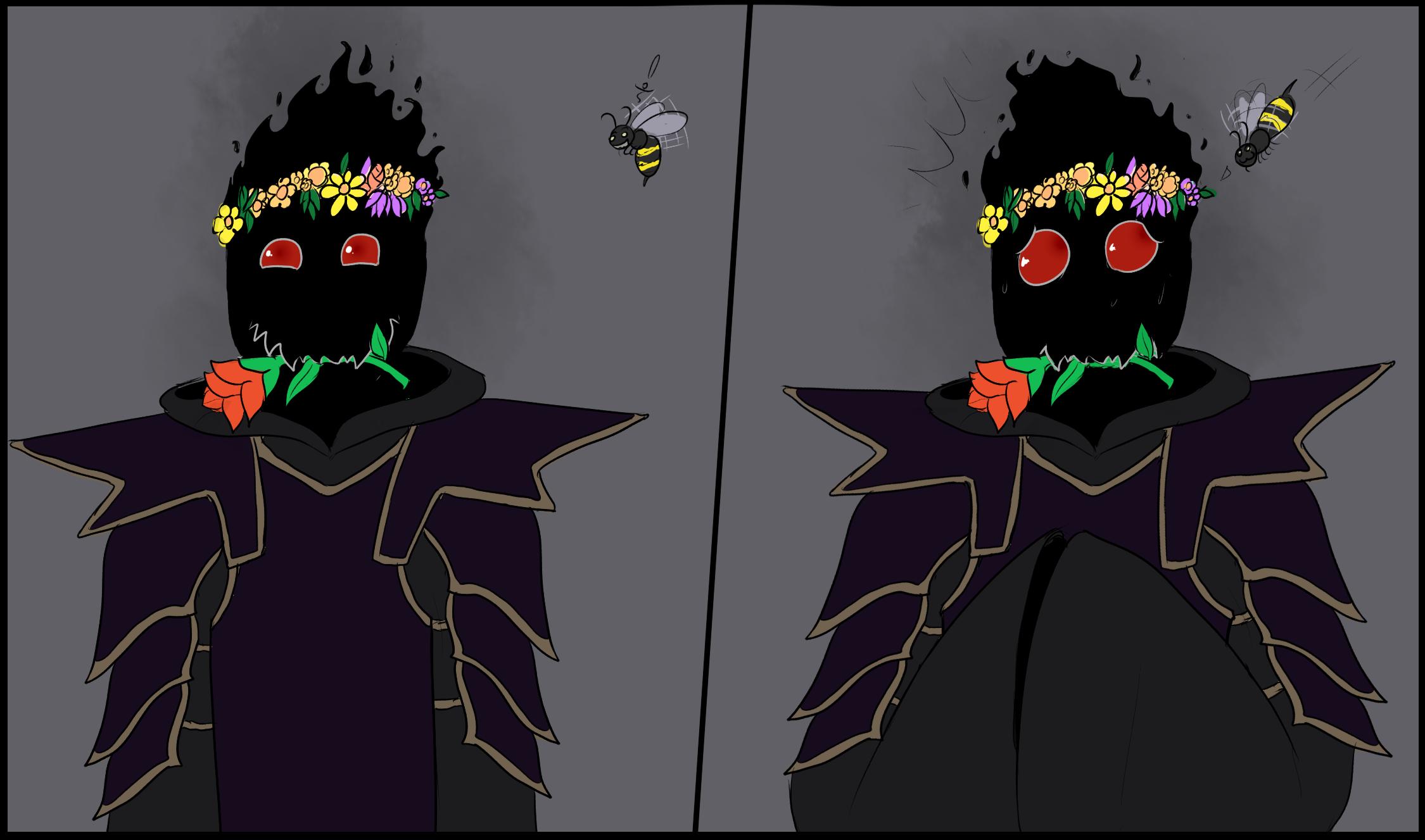 Zathog vs Bee — Weasyl