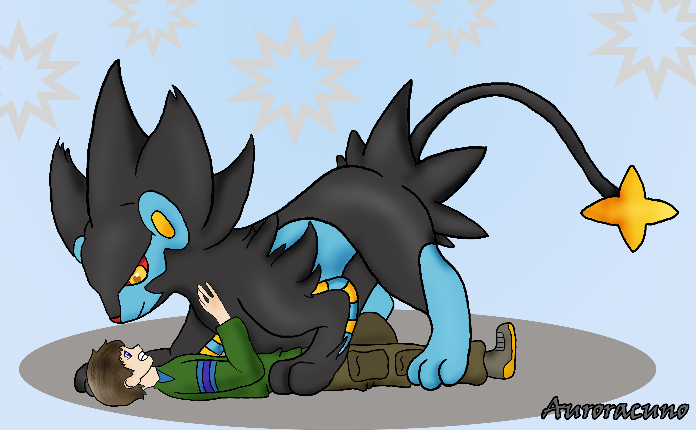 In Soviet Russia... Luxray catch you! — Weasyl