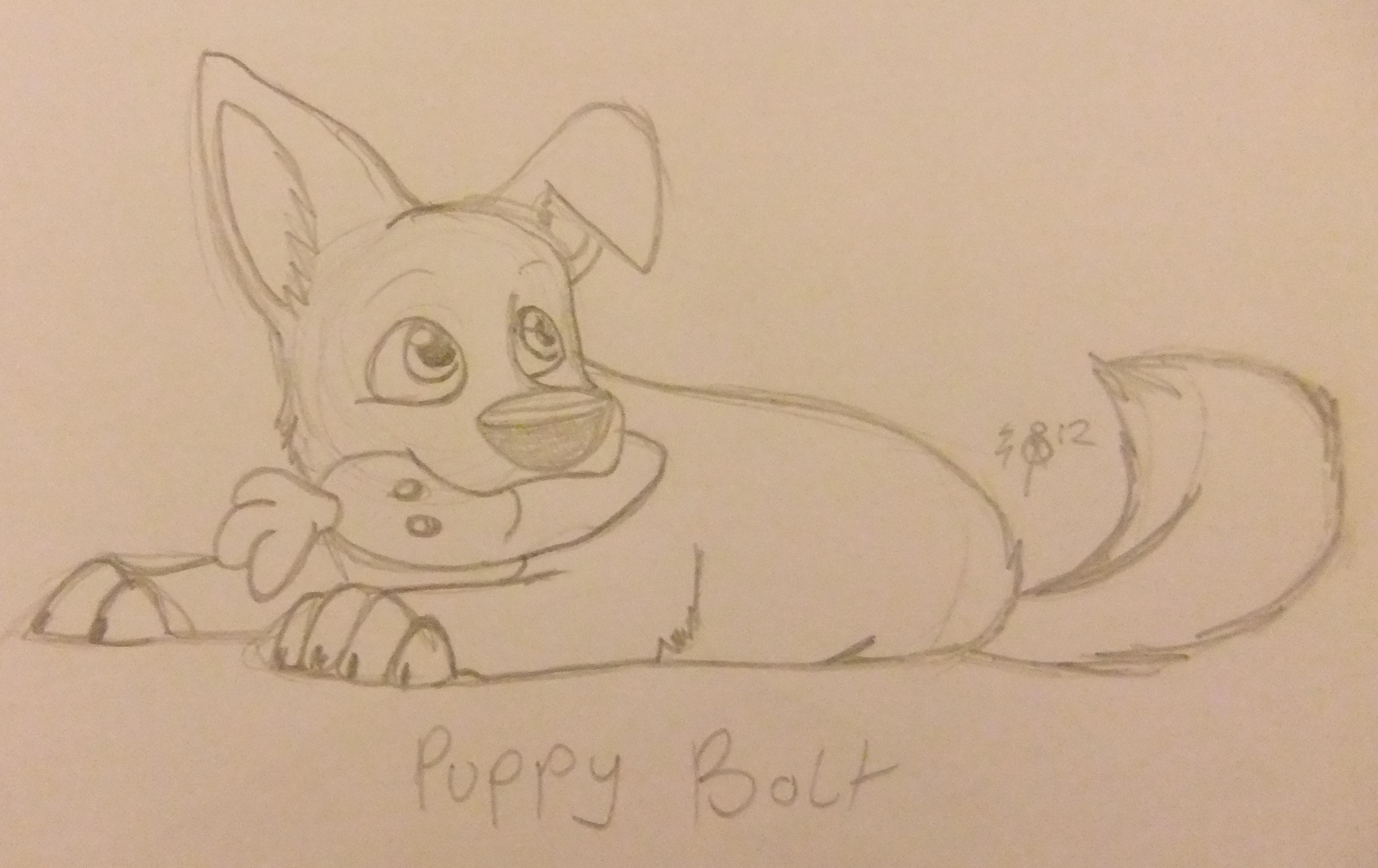 Puppy Bolt Weasyl