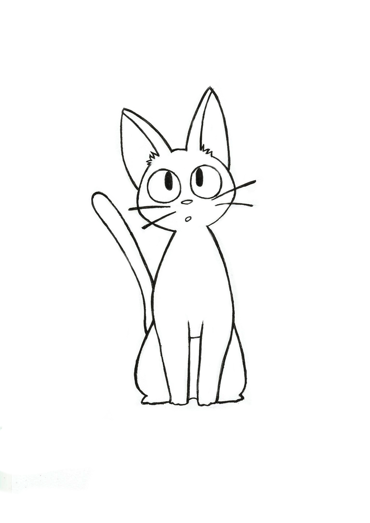 Jiji kiki 39 s delivery service weasyl for Kiki s delivery service coloring pages
