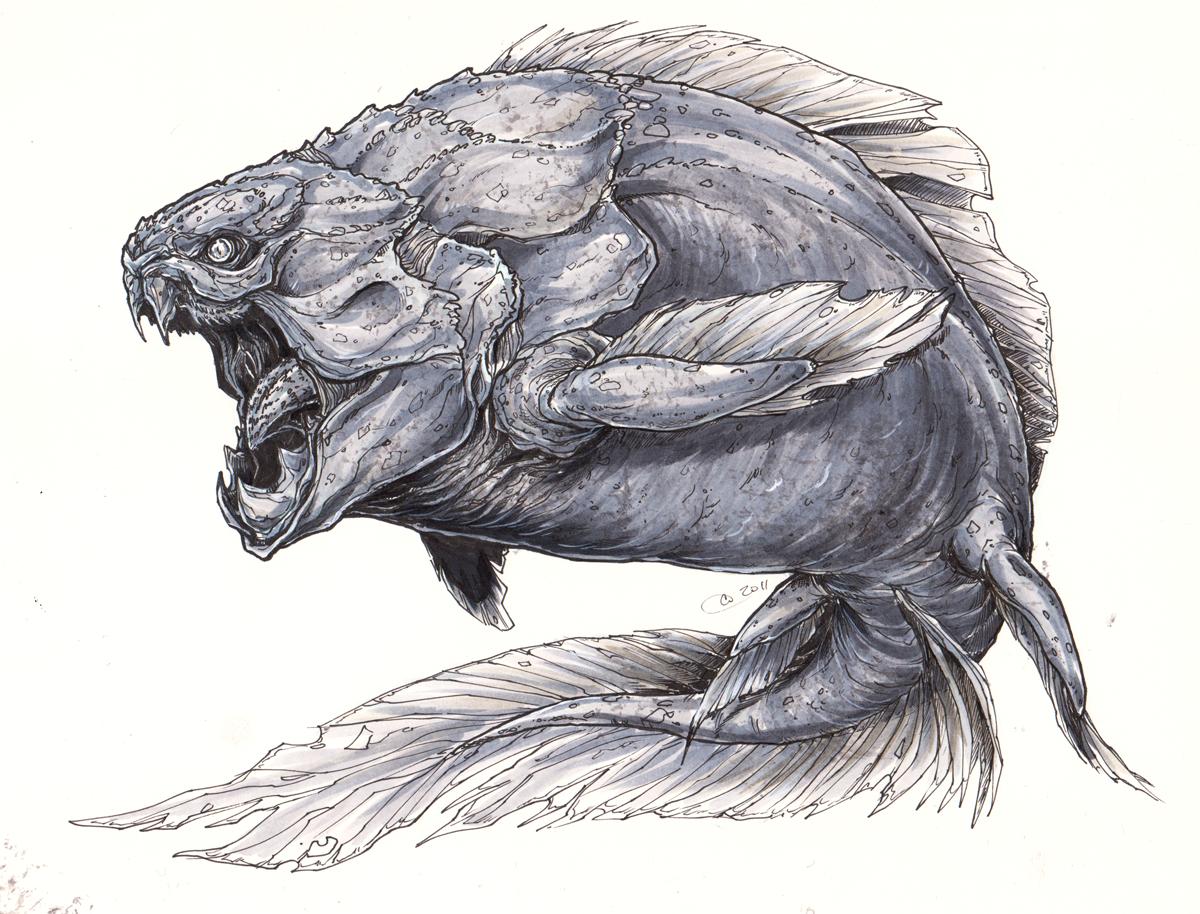 морские чудовища картинки карандашом чаще всего