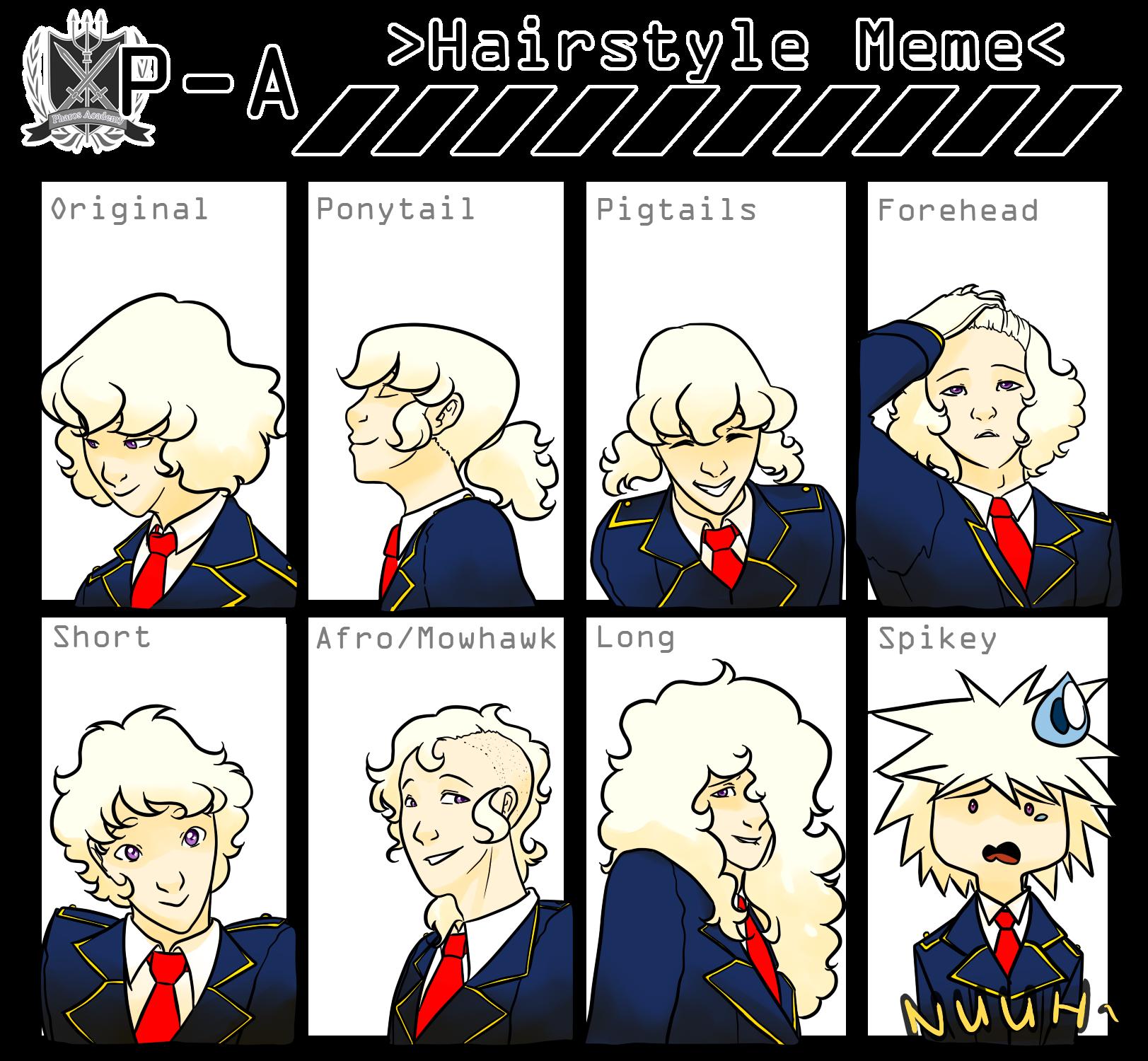 Theophrastus Hairstyle Meme Weasyl