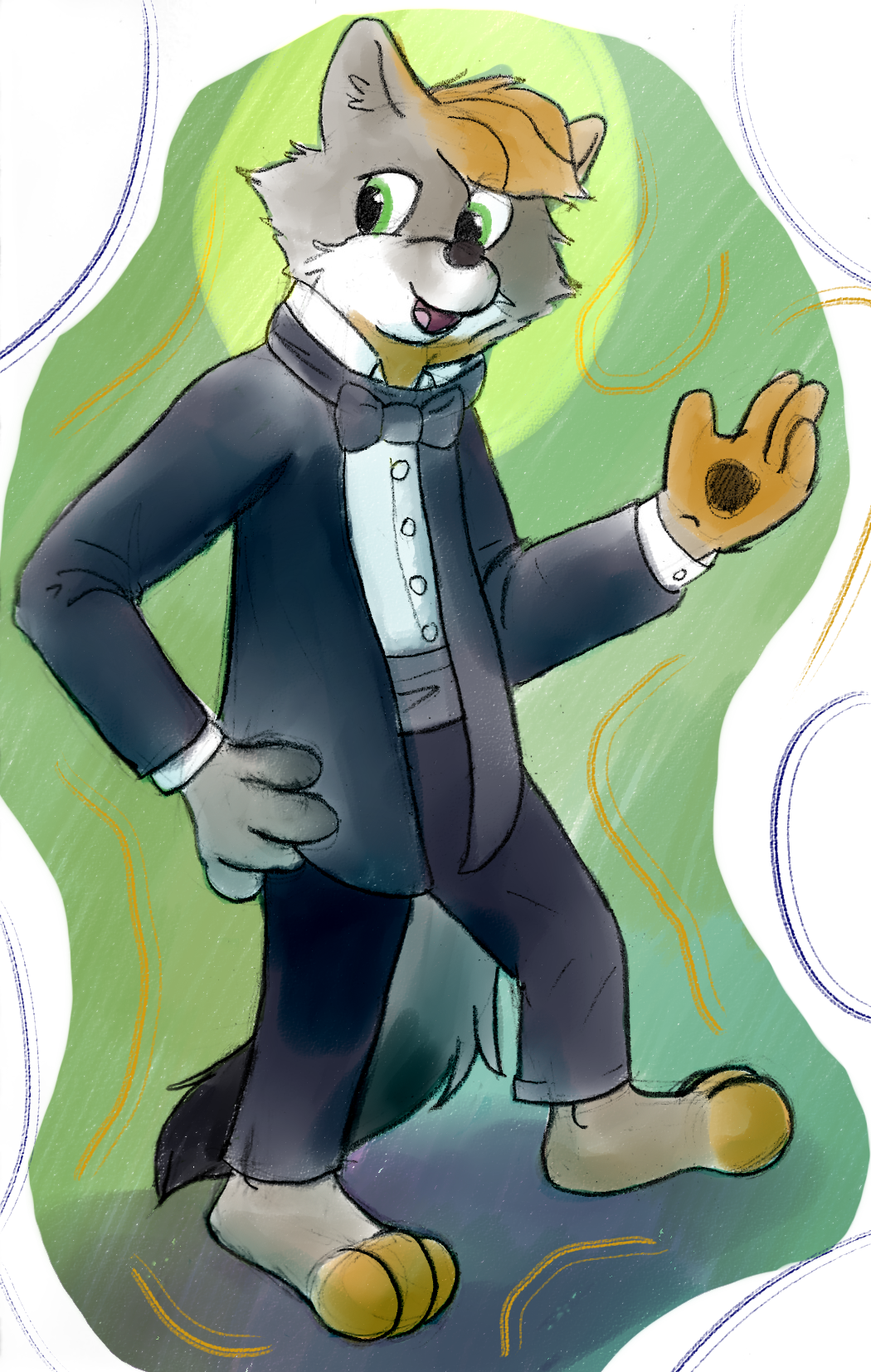 Masquerade Drawing Weasyl