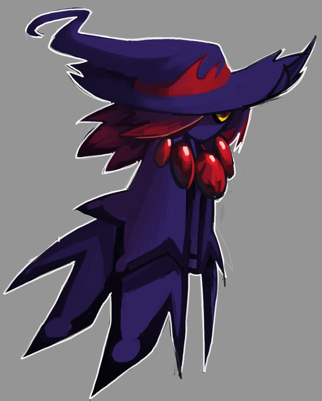 Hypothetical Mega Mismagius Weasyl