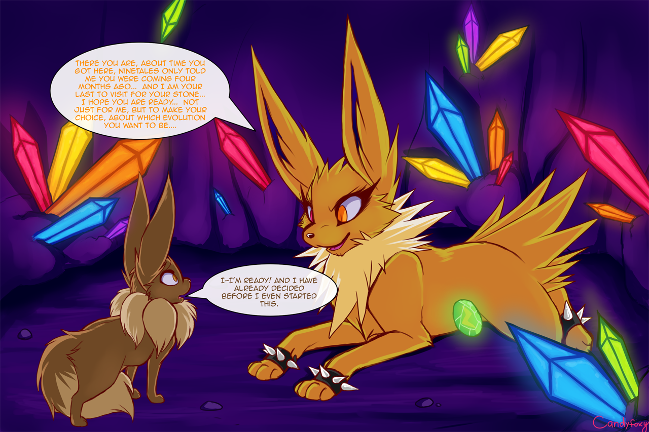 how an eevee earns a thunderstone part 20 u2014 weasyl