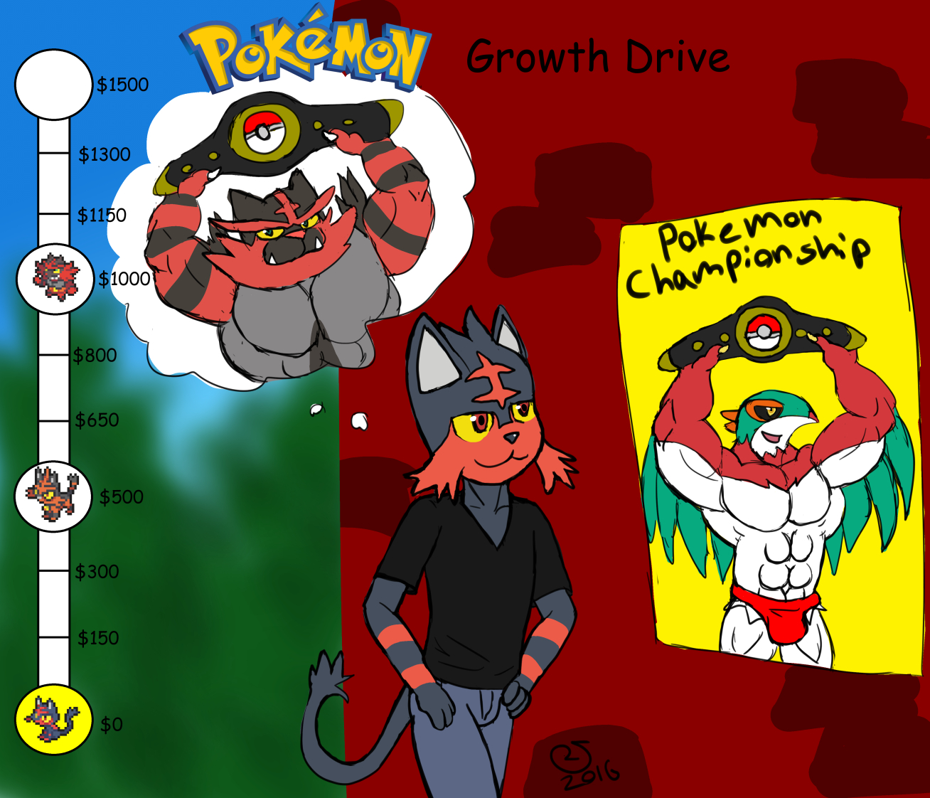 Pokemon Growth Drive: Bilts