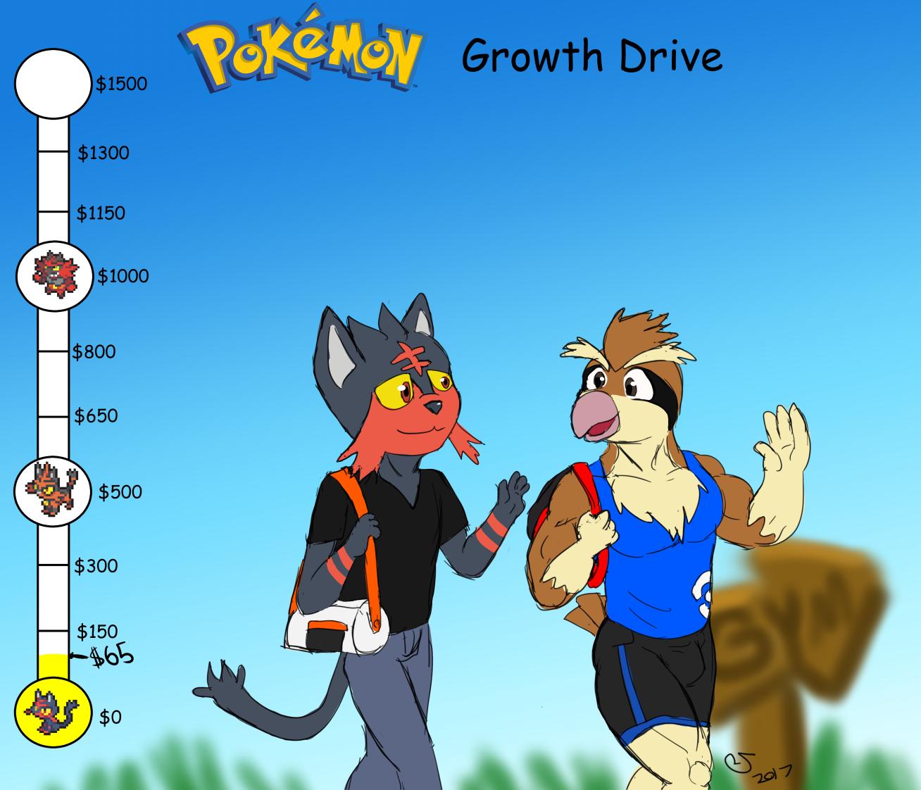 Pokemon Growth Drive Bilts 0 1