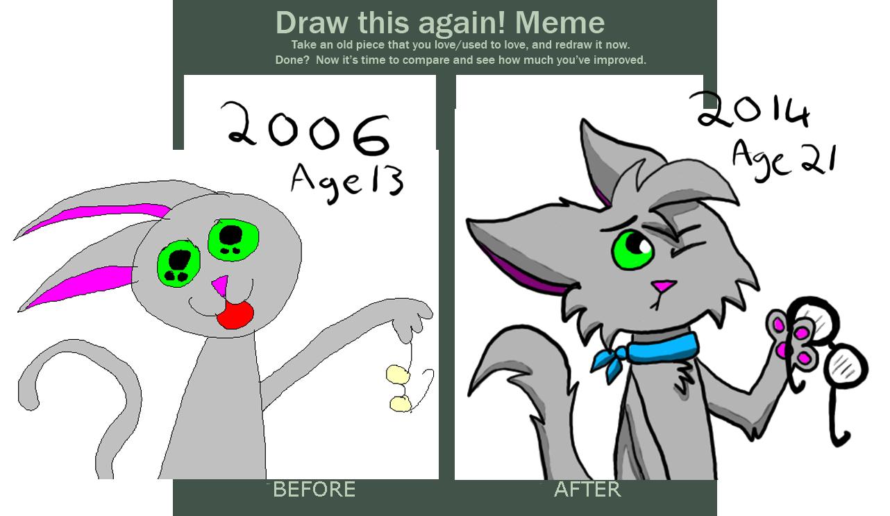 Draw It Again Meme Weasyl