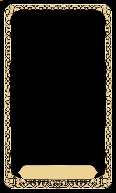 Tarot border — Weasyl
