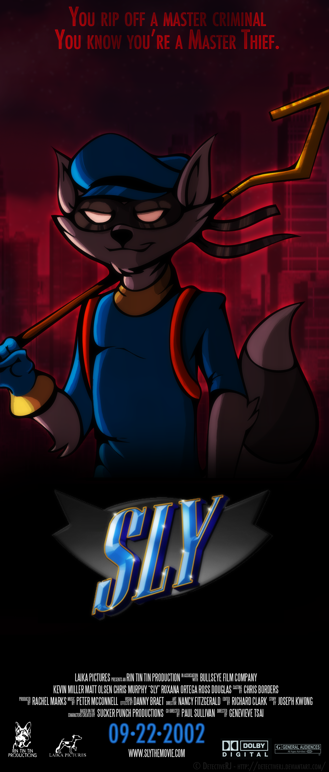 Sly Cooper The Movie Fake Poster