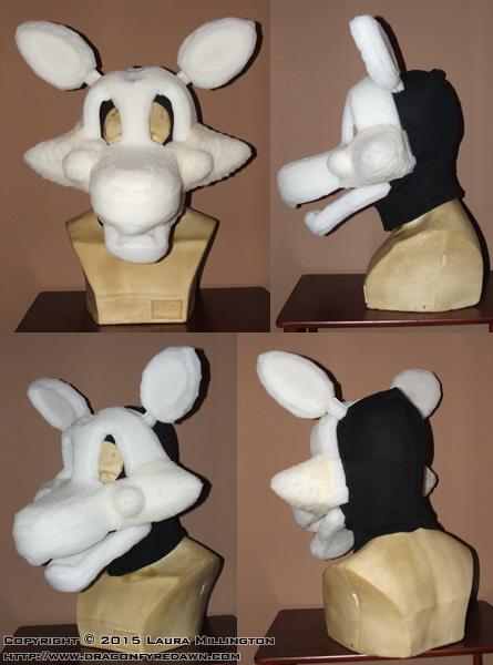 Fnaf mangle mask base by dfdcostumes