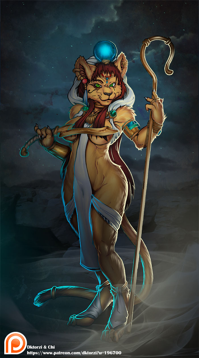 Cat goddess porn