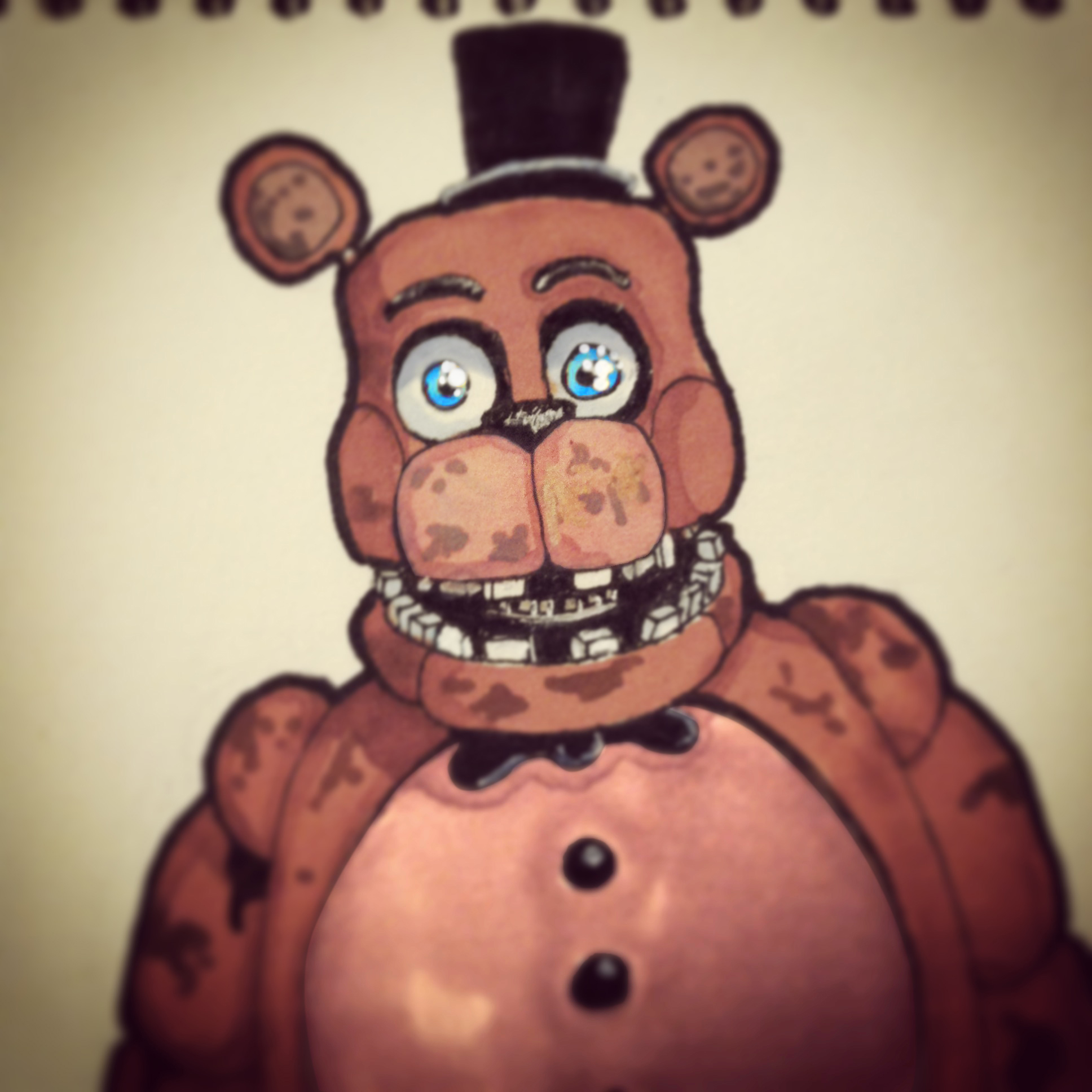 Withered Freddy — Weasyl