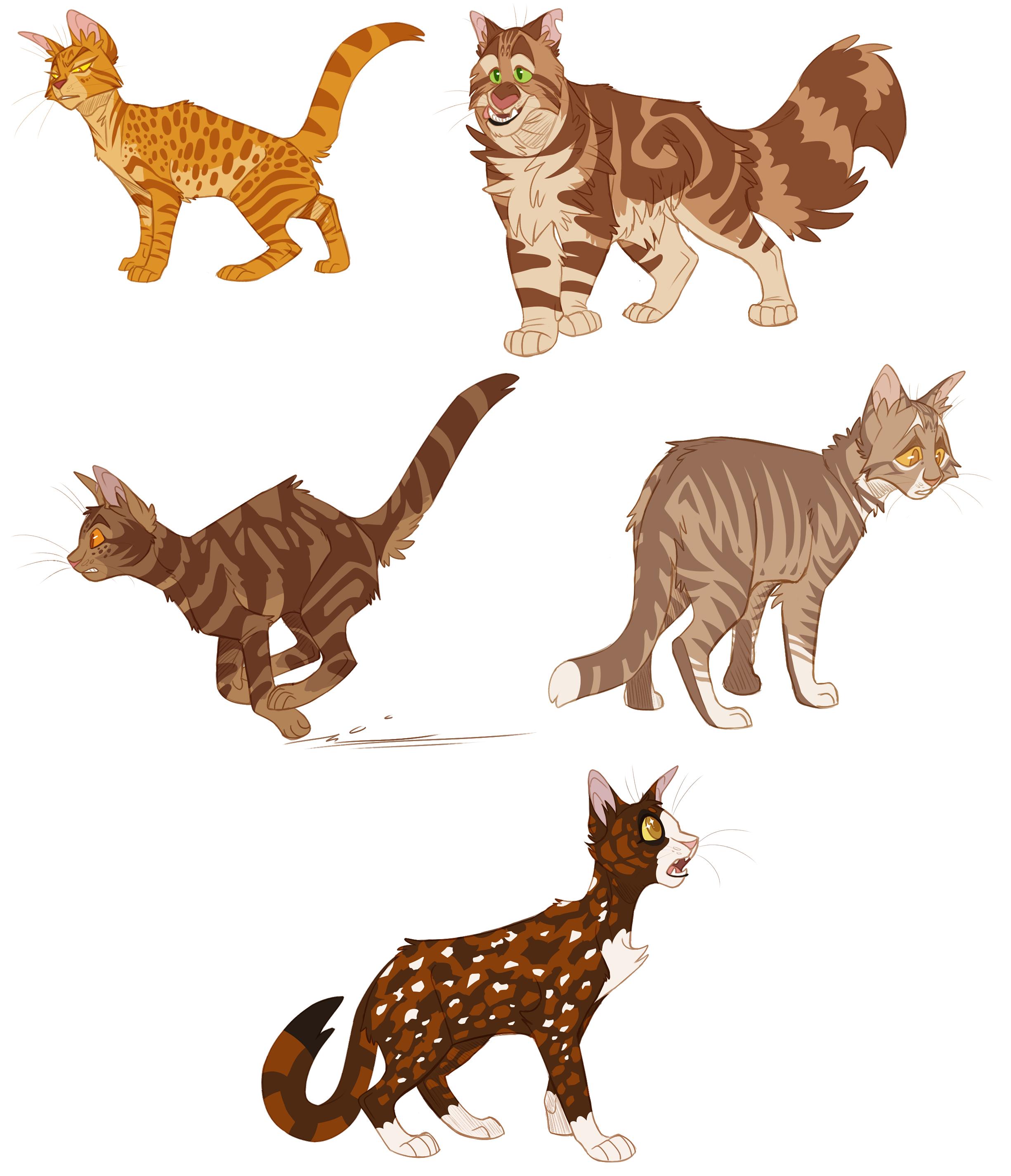 100 warrior cats challenge days 6 10 weasyl