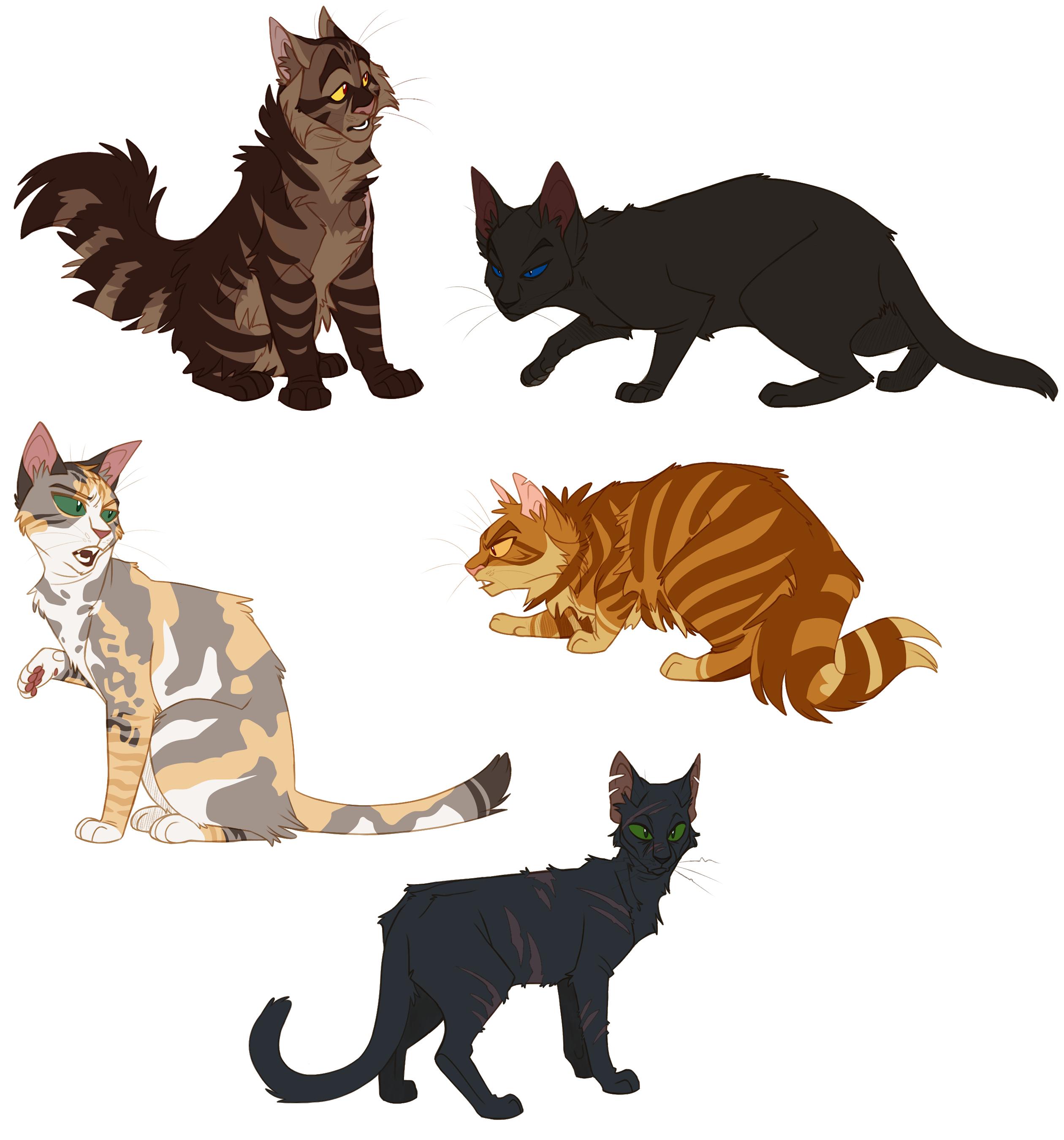 Warriors Into The Wild Dra Level: 100 Warrior Cats Challenge: Days 21-25