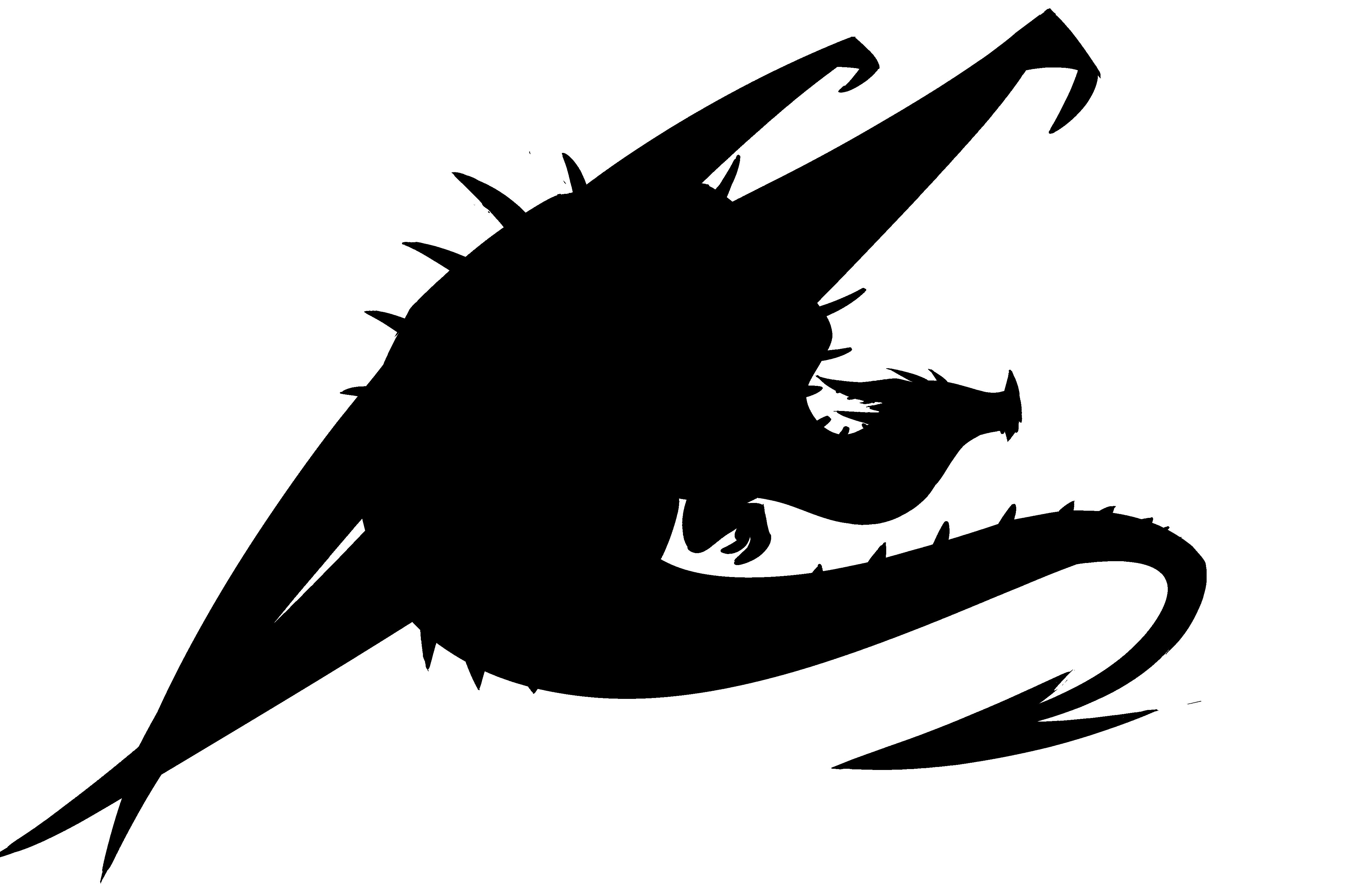 Dragon Silhouette — Weasyl