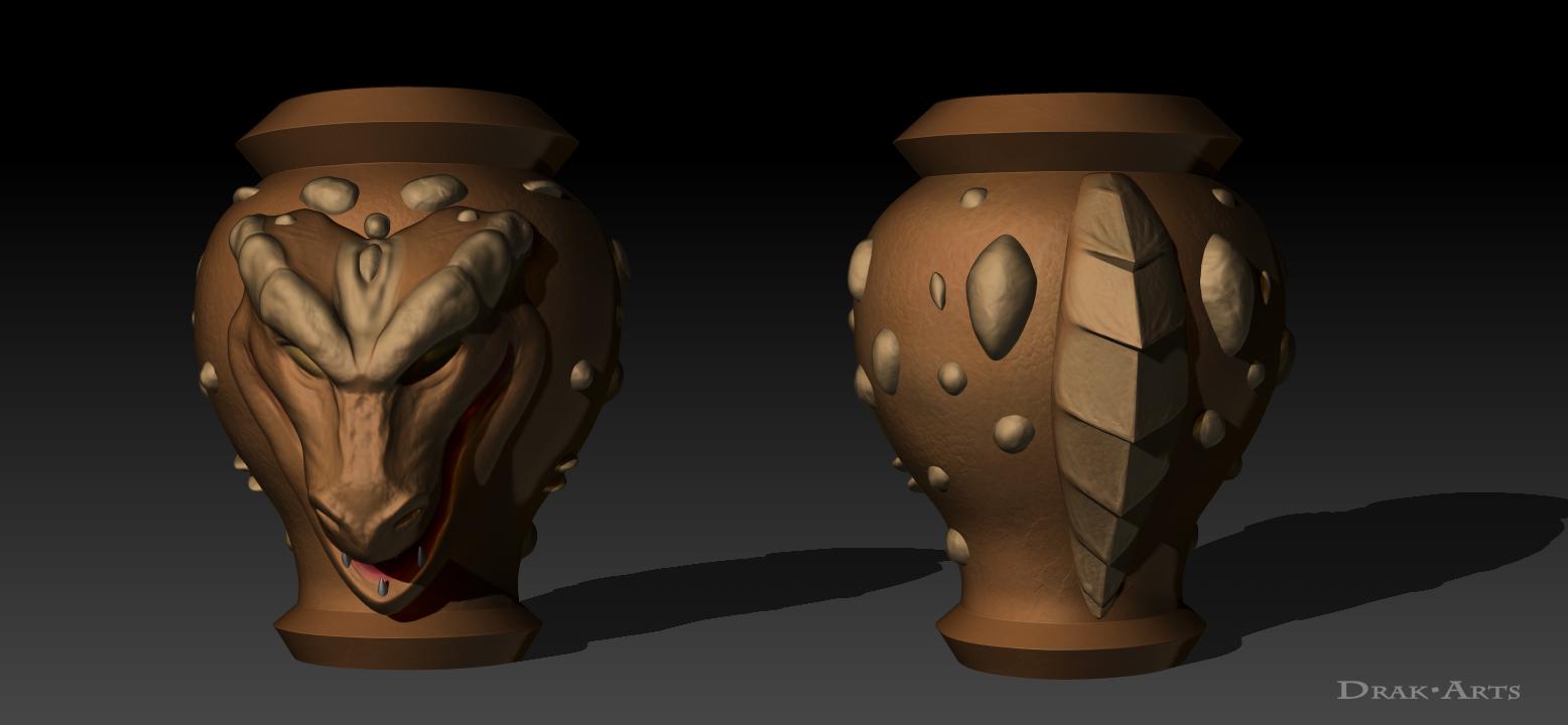 Yu-Gi-Oh! Dragon Capture Jar 3D — Weasyl