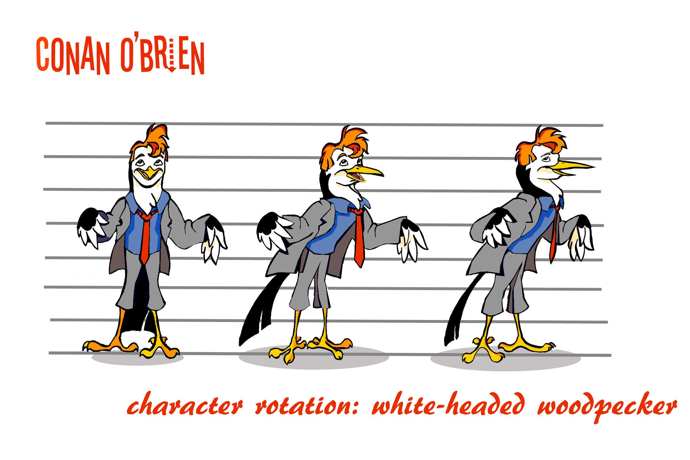 Character Design Class : Character design class conan o brien — weasyl