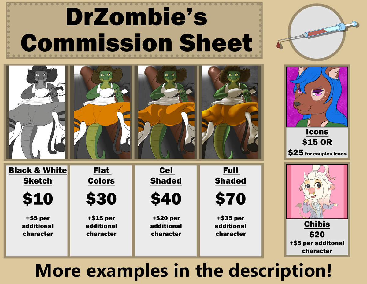 commission sheet  u2014 weasyl