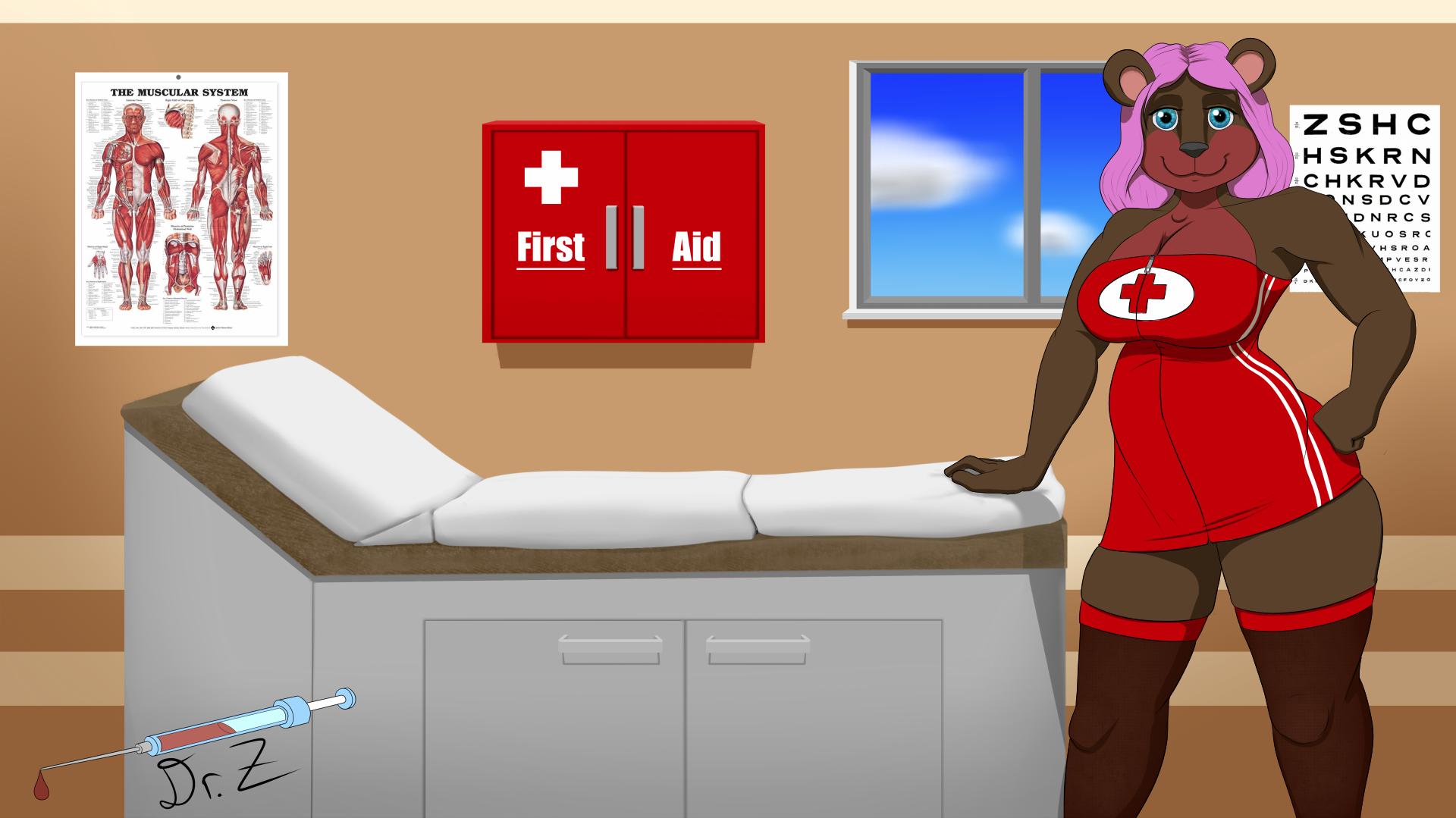 Bbw Nurse halloween art: nurse liz — weasyl