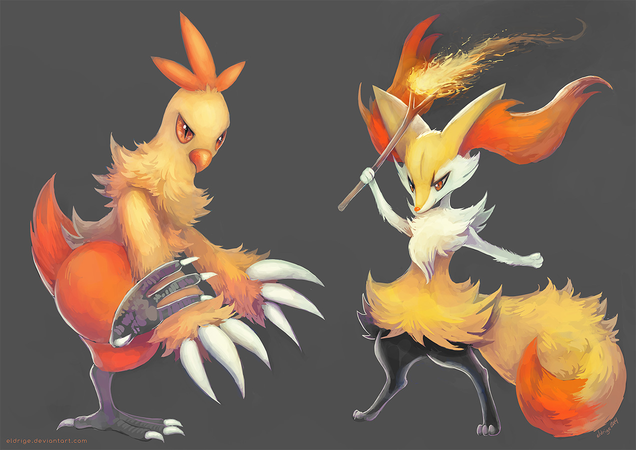 shiny combusken and combusken comparison - HD 1273×900