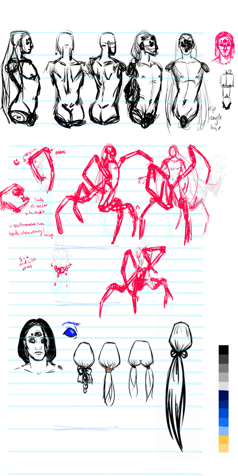 D Artiste Character Design Download : Character design spider — weasyl