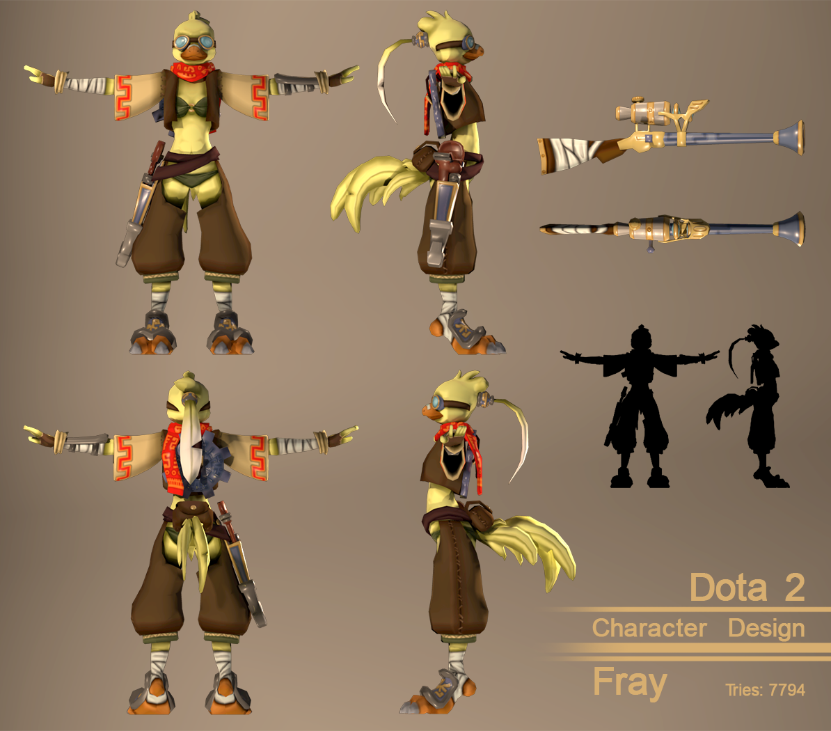 Character Design Download : Dota character design fray — weasyl